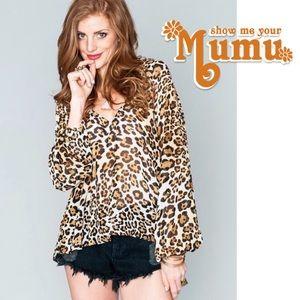 Show Me Your MuMu   Chelsey Cheetah Print Tunic